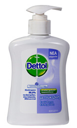 Κρεμοσάπουνο DETTOL sensitive extra αντλία 250ml