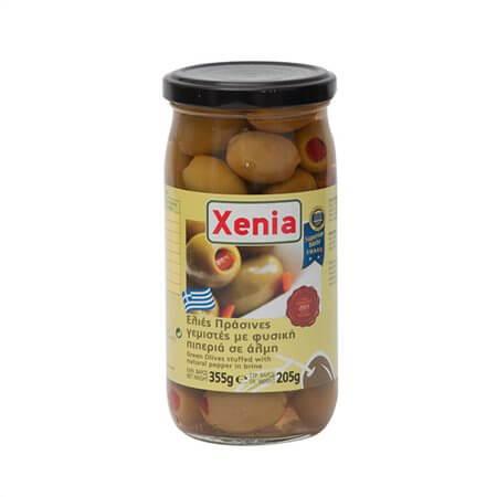 Ελιές XENIA με πιπεριά 355gr