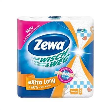 Χαρτί κουζίνας ZEWA wisch & weg extra lang 2τμχ