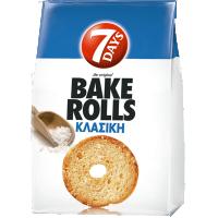 Σνακς BAKE ROLLS Κλασικό 160gr