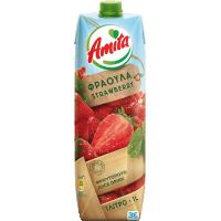 Χυμός AMITA Φράουλα 1lt