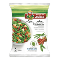 Σαλάτα λαχανικών ΜΠΑΡΜΠΑ ΣΤΑΘΗΣ ανάμικτη 450gr