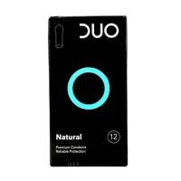 Προφυλακτικά DUO natural 12τμχ