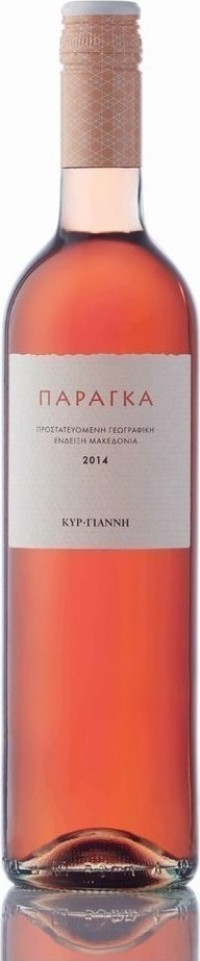 Κρασί ΚΥΡ-ΓΙΑΝΝΗ παράγκα ροζέ 750ml