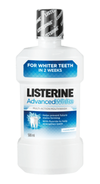 Στοματικό διάλυμμα LISTERINE advance white 250ml