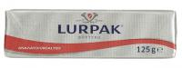 Βούτυρο LURPAK ανάλατο σε αλουμινόχαρτο 125gr