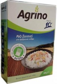 Ρύζι AGRINO Basmati 10' σε σακουλάκι 4x125gr