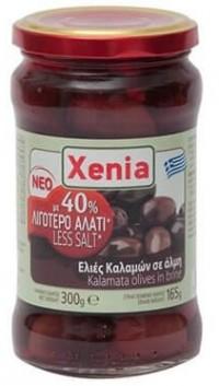 Ελιές XENIA καλαμών με 40% λιγότερο αλάτι (στ.β.165gr) 300gr (-1€)