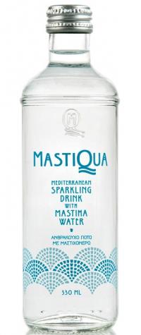 Aνθρακούχο νερό MASTIQUA 330ml