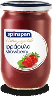 Μαρμελάδα SPIN SPAN φράουλα 600gr