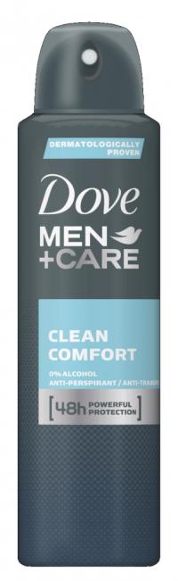 Αποσμητικό spray DOVE Men clean comfort 150ml