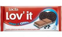 Σοκολάτα LACTA oreo 105gr
