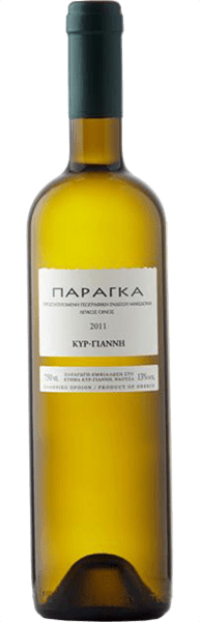 Κρασί ΚΥΡ-ΓΙΑΝΝΗ παράγκα λευκό 750ml