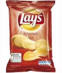 Πατατάκια LAY'S κλασικά αλάτι 150gr