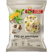 Ρύζι ΜΠΑΡΜΠΑ ΣΤΑΘΗΣ με μανιτάρια 600gr