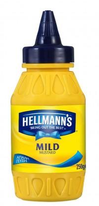 Μουστάρδα HELLMANN'S απαλή 250gr