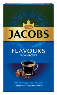 Καφές φίλτρου JACOBS Flavours φουντούκι 250gr