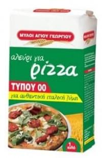 Αλέυρι ΜΥΛΟΙ ΑΓ. ΓΕΩΡΓΙΟΥ για πίτσα 1kg