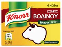 Κύβοι KNORR βοδινό 6τμχ