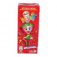 Χυμός AMITA fun φράουλα-στάφυλι-μήλο 250ml