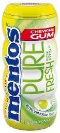Τσίχλες MENTOS pure fresh lemonade 28gr 15τμχ