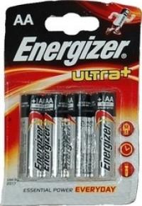 Μπαταρίες ENERGIZER Ultra+ AA 4τμχ
