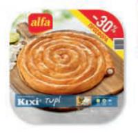 Πίτα ALFA Kιχί με τυρί ταψί 800gr (-30%)