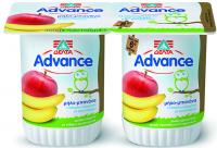 Επιδόρπιο γιαουρτιού ΔΕΛΤΑ Advance μήλο-μπανάνα 2x150gr