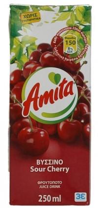 Χυμός AMITA βύσσινο 250ml