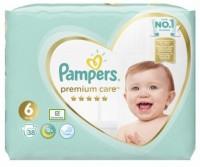 Πάνες PAMPERS Premium Care No6 13+kg 38τμχ