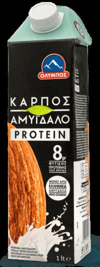 Ρόφημα ΟΛΥΜΠΟΣ ΚΑΡΠΟΣ αμυγδάλου protein 1lt