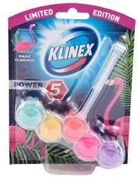 Block τουαλέτας KLINEX magic flamingo 55gr