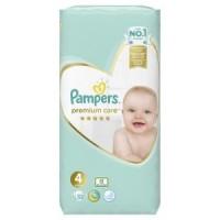 Πάνες PAMPERS Premium Care Νο4 9-14kg 52τμχ