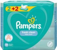 Μωρομάντηλα PAMPERS fresh clean 4x52τμχ (2+2 δώρο)