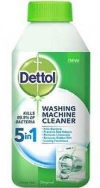 Απολυμαντικό DETTOL πράσινο καθαριστικό πλυντηρίου 250ml