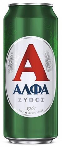 Μπύρα ΑΛΦΑ κουτί 500ml