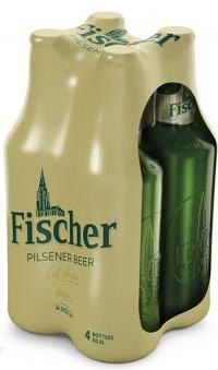 Μπύρα FISCHER φιάλη 4x500ml