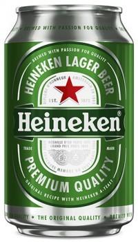 Μπύρα HEINEKEN κουτί 330ml