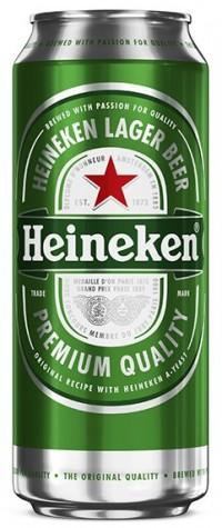 Μπύρα HEINEKEN κουτί 500ml