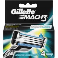 Ανταλ/κά ξυρίσματος GILLETTE Mach3 4τμχ