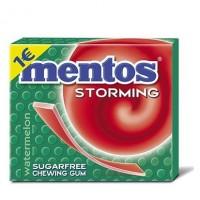Τσίχλες MENTOS storming καρπούζι 33gr 12τμχ
