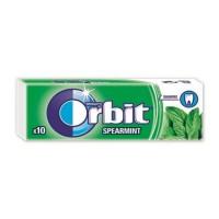 Τσίχλες ORBIT spearmint 14gr 10τμχ