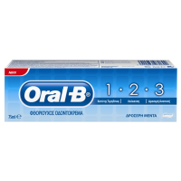 Οδοντόκρεμα ORAL B 1-2-3 75ml