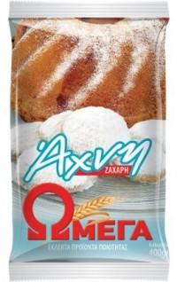 Ζάχαρη ΩΜΕΓΑ άχνη 400gr