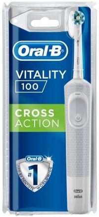 Ηλεκ/κίνητη οδοντ/τσα ORAL B Vitality CrossAction white 100