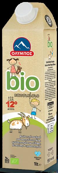 Παιδικό ρόφημα γάλακτος ΟΛΥΜΠΟΣ Bio κατσικίσιο 1lt