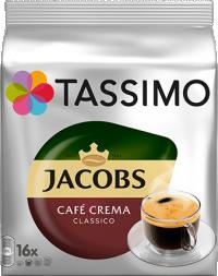 Κάψουλες TASSIMO Jacobs cafe crema 16x7gr