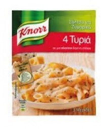 Σάλτσα για ζυμαρικά KNORR 4 τυριά 44gr