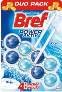 Block Τουαλέτας BREF Power Active Ocean 2x50gr