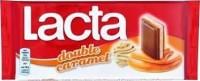 Σοκολάτα LACTA double caramel 100gr